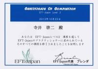 EFT-Japan プラクティショナー