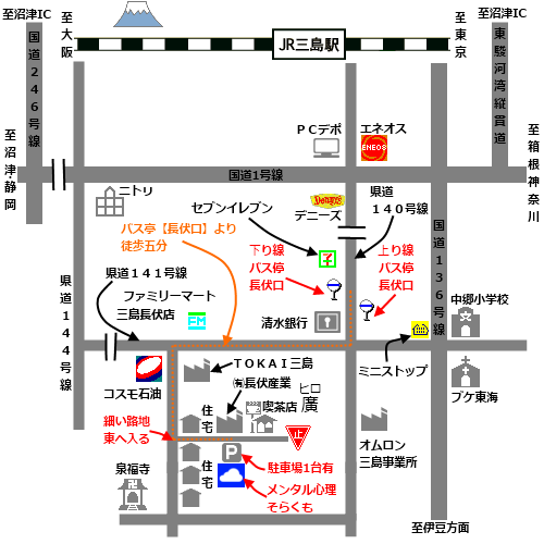 周辺の詳細地図