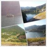 ダム側からの風景