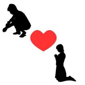 アダルトチルドレン_イネイブラータイプの恋愛傾向を表すイラスト