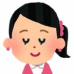 女性の顔のイラストB