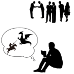 アダルトチルドレン_ロストワンタイプの性格を表すイラスト