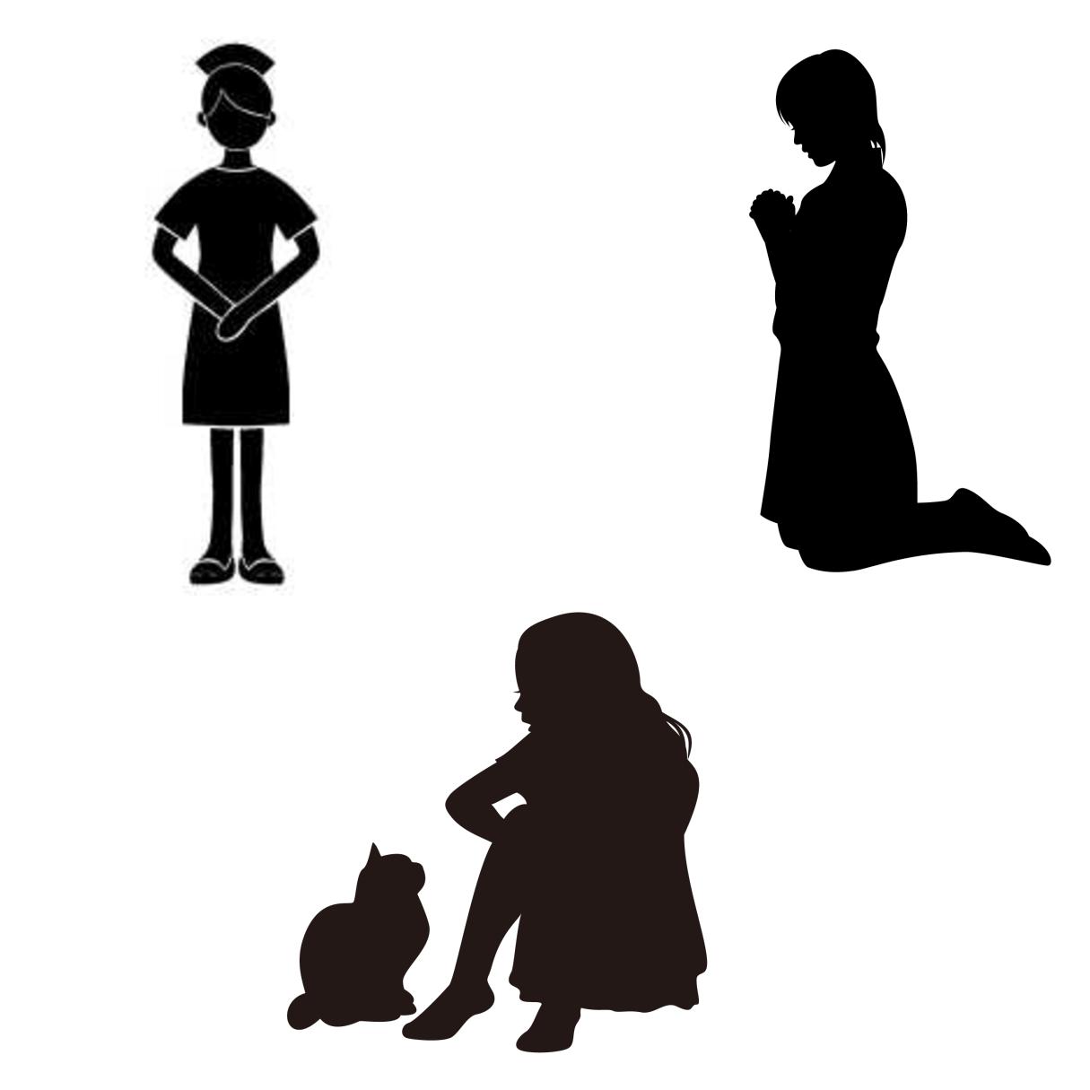 ケアテイカー、プラケーター、イネイブラーの違いを表すイメージ