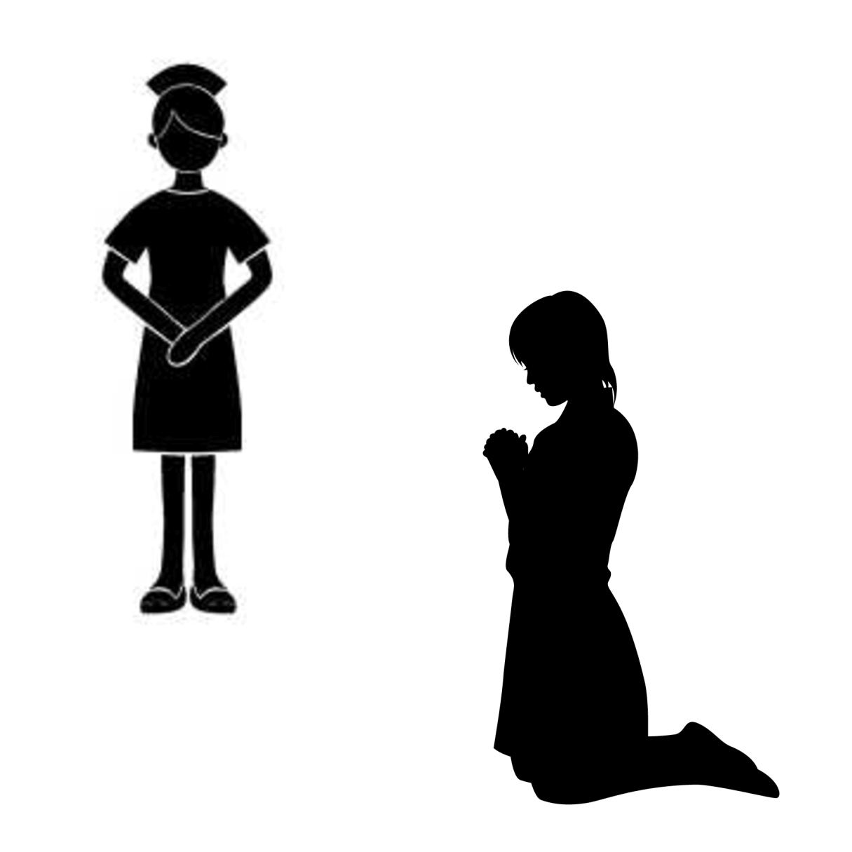 ケアテイカー(世話役)とイネイブラー(支え役)の違いを表すイメージ
