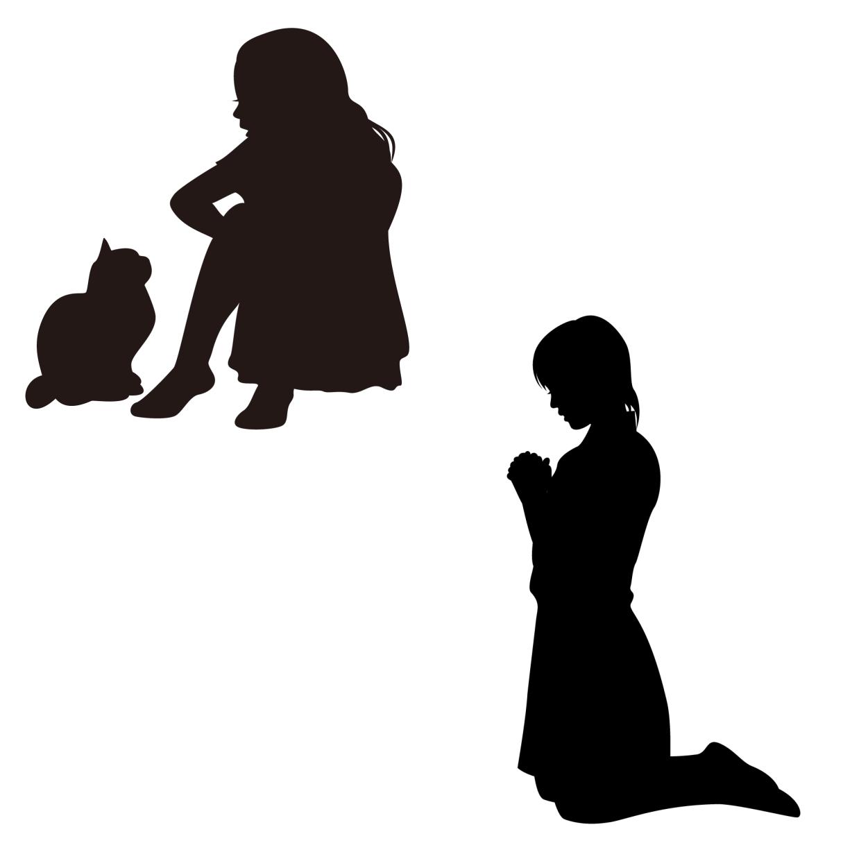 プラケーター(慰め役)とイネイブラー(支え役)の違いを表すイメージ