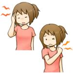 身体的な好転反応と心理的な好転反応のイメージ