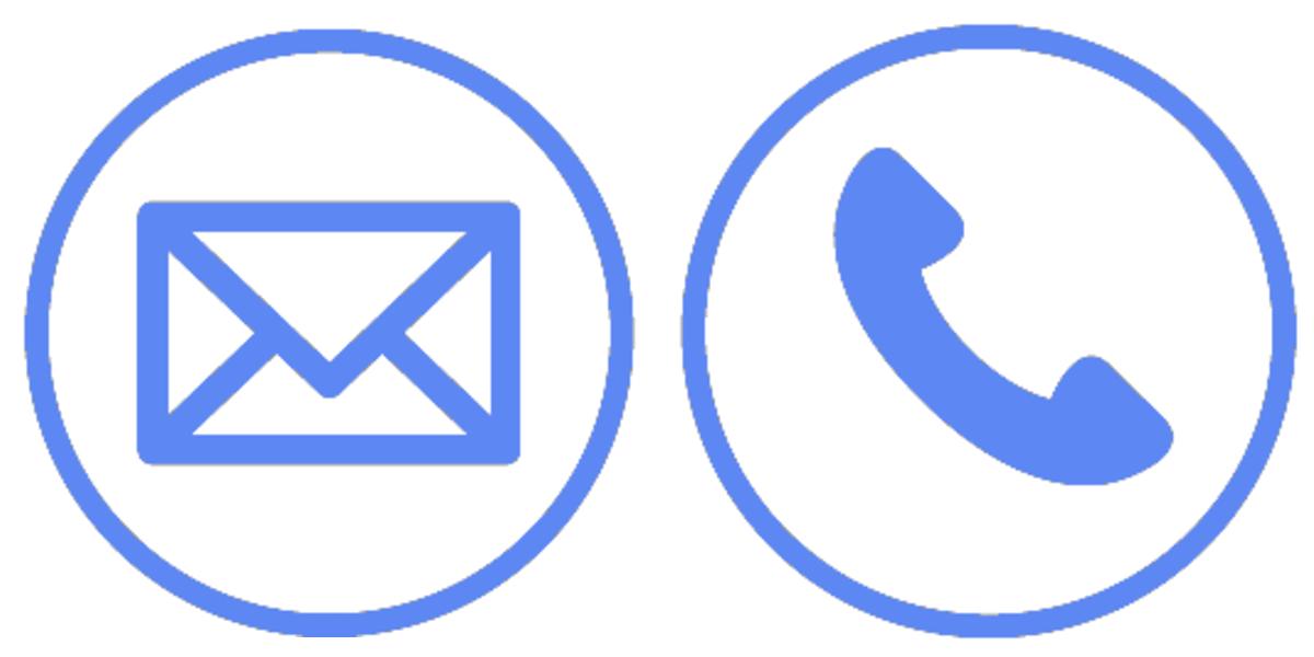 電話とメールのマーク