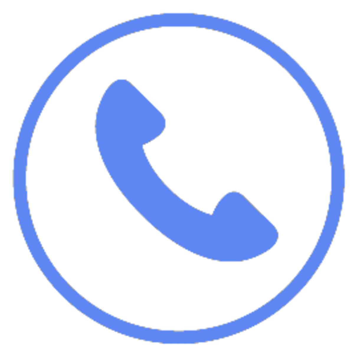 電話受付時間を表わすロゴ