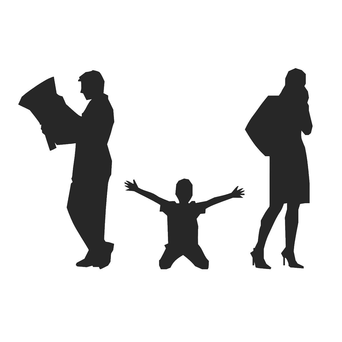 毒親になる原因は機能不全家族であることを表すイラスト
