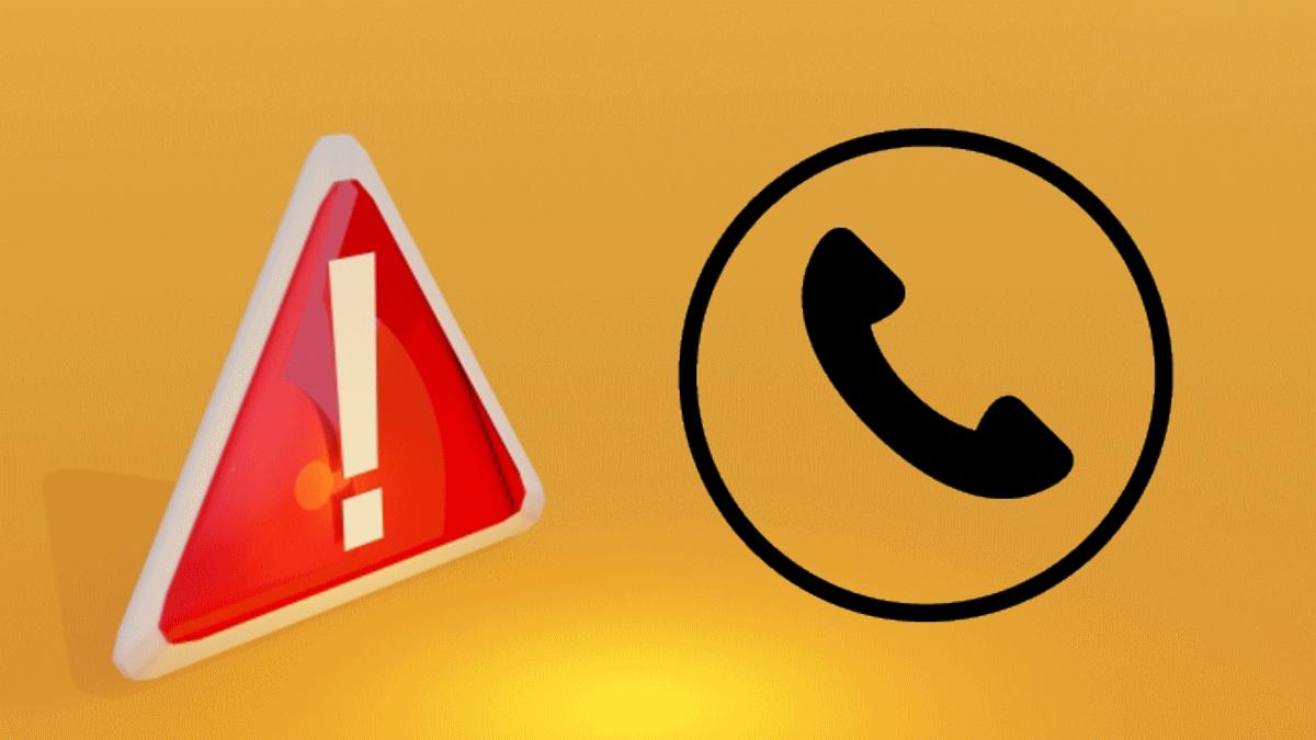 電話での予約確定に関する注意事項を表わすイラスト