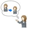 対面カウンセリングのセッションの種類と選び方を説明しているイラスト