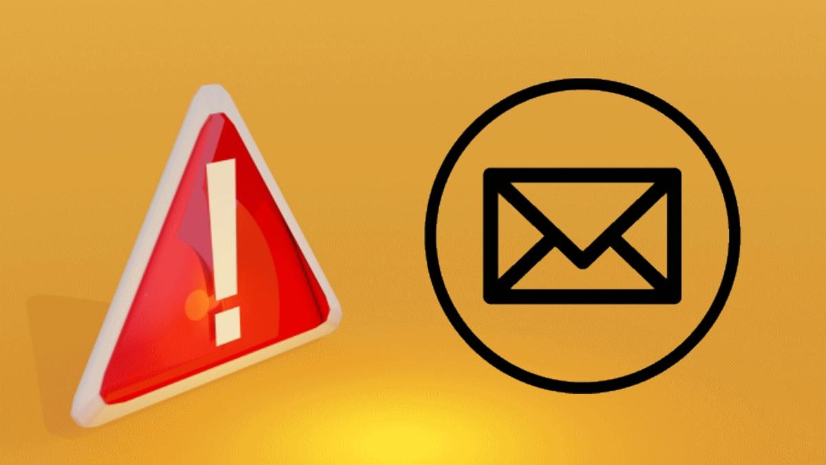 メールでの予約確定に関する注意事項を表わすイラスト