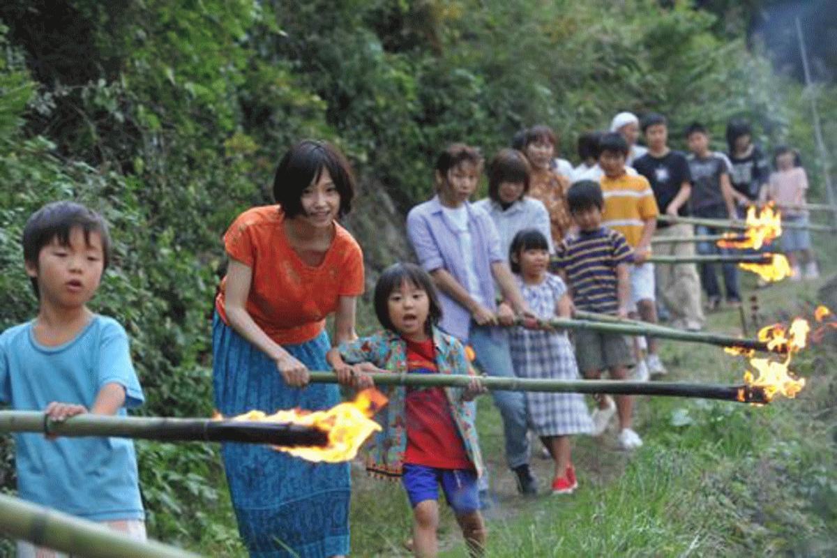 薫から大好きなお母さん希和子への気持ちを表すイメージ