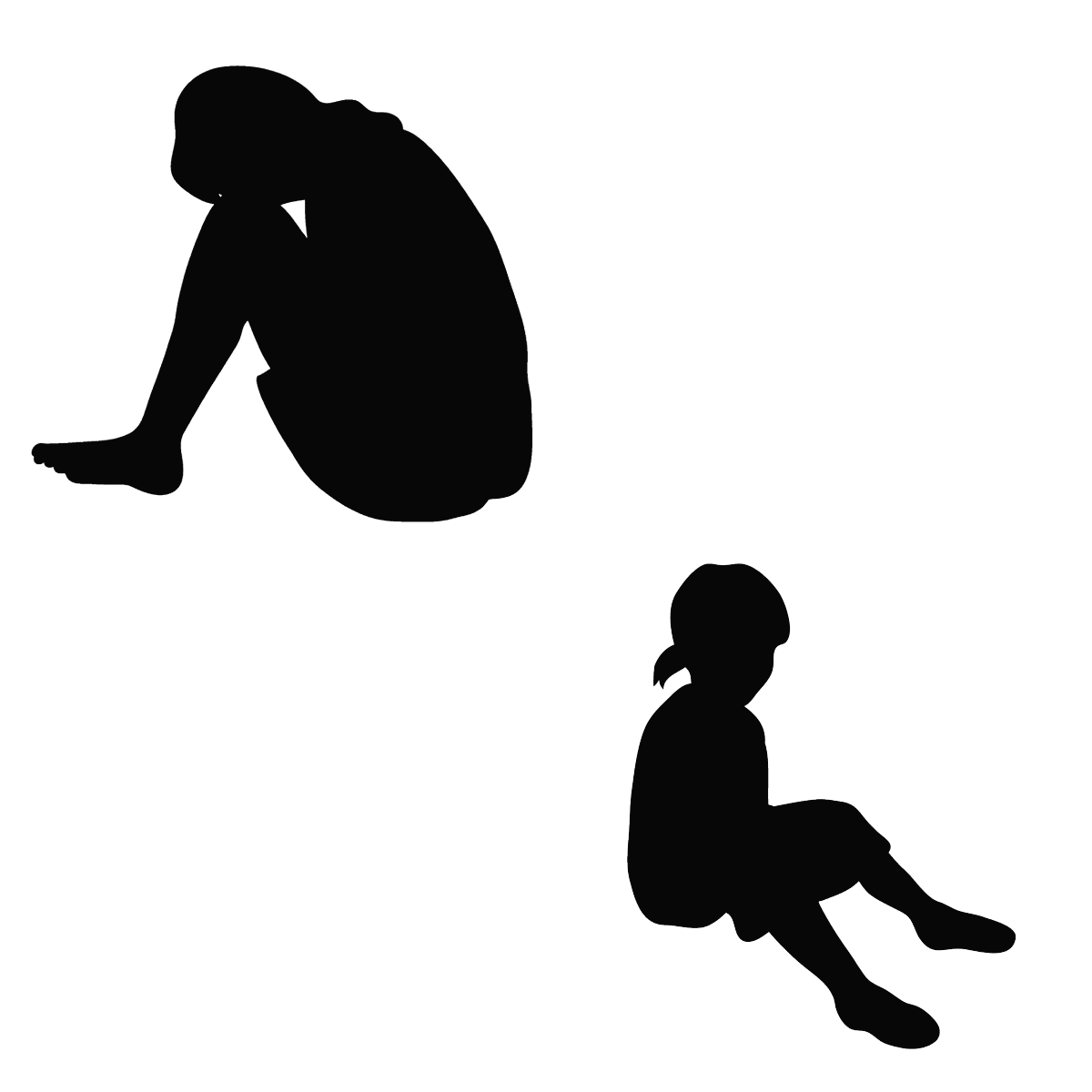 恵理菜と薫ふたつの名前を持つ子供のイメージ