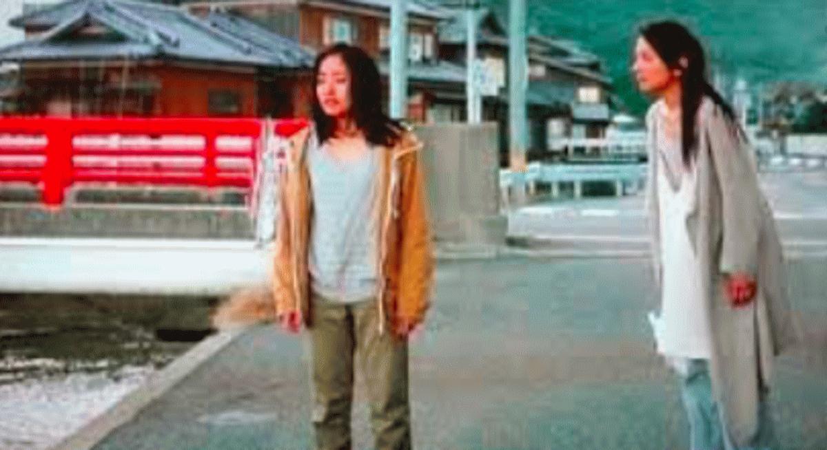 映画八日目の蝉、恵理菜が希和子の愛情を思い出しているイメージ