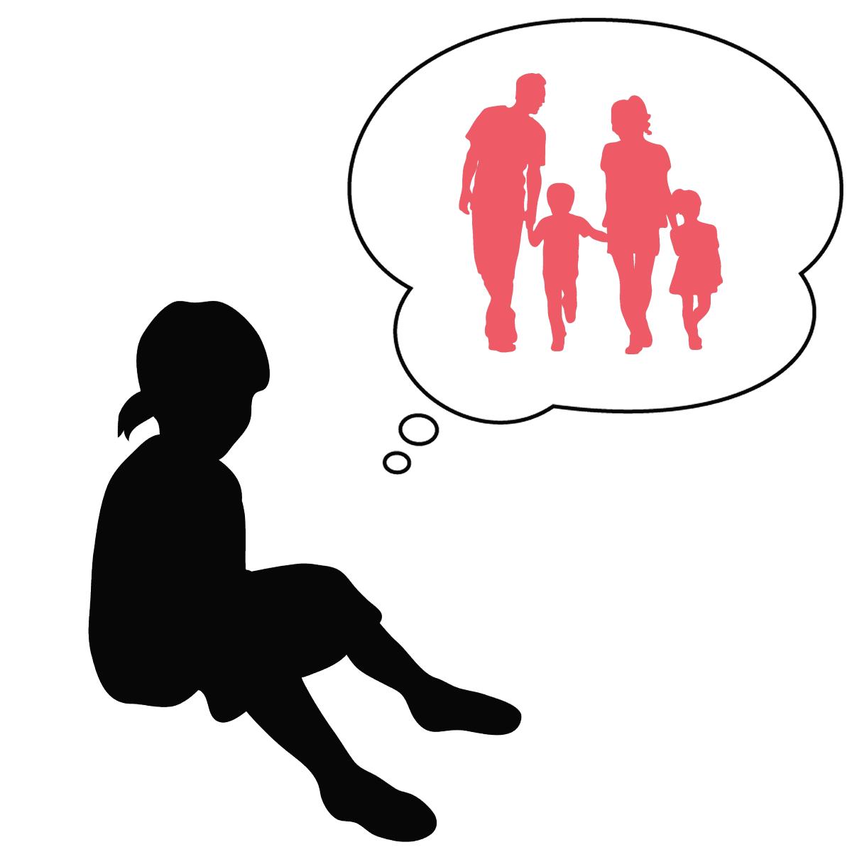 アダルトチルドレンの願いは「毒親」と「機能不全家族」の健全化であることを表しているイラスト