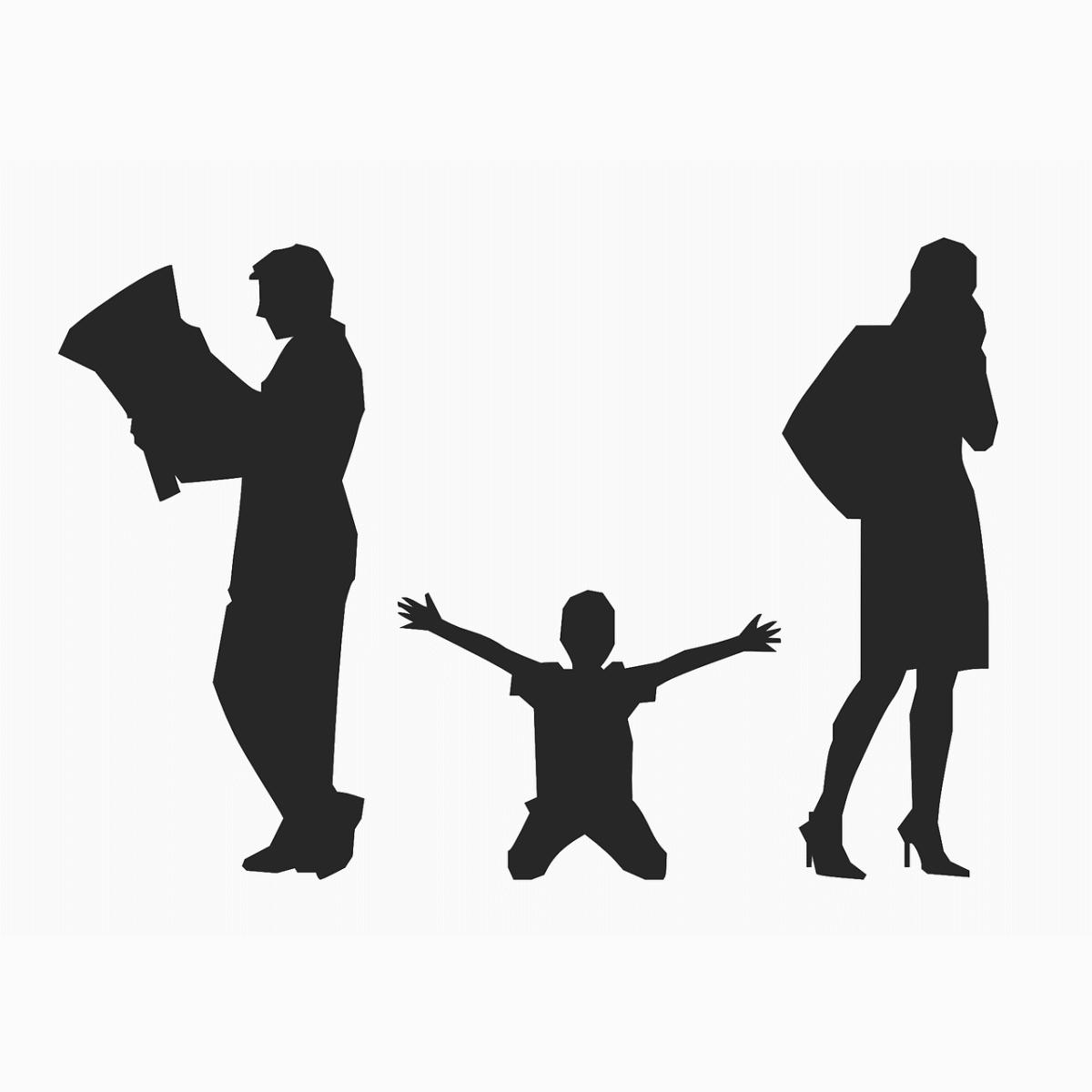 アダルトチルドレンの歴史は機能不全家族と関わりが深い様子を表すイラスト