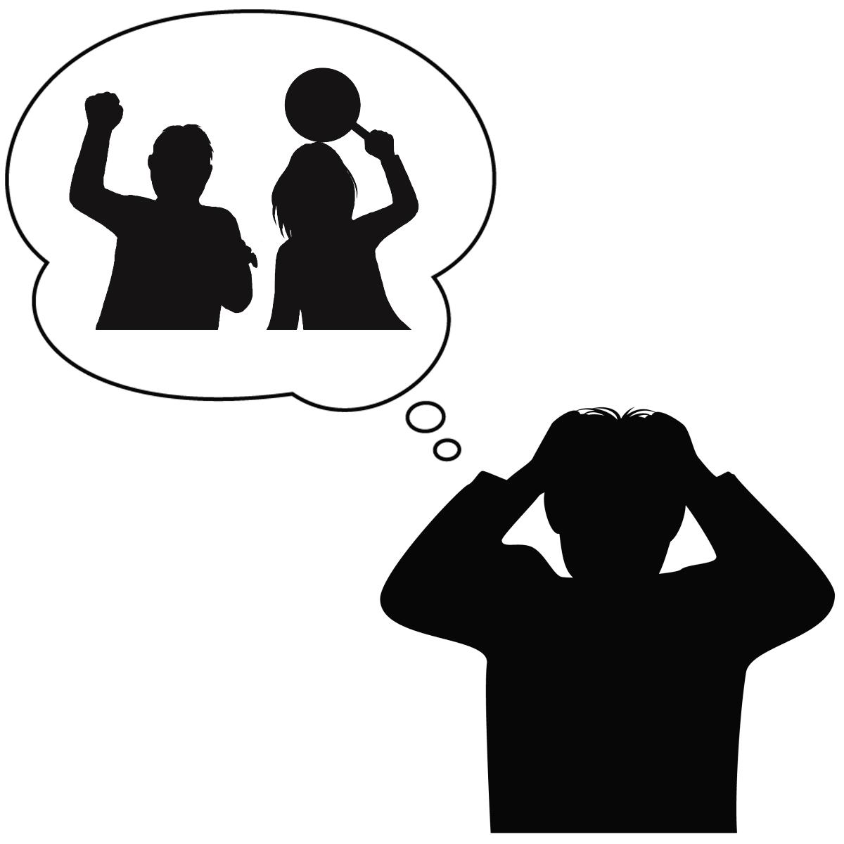 アダルトチルドレンとトラウマの関係を表しているイラスト